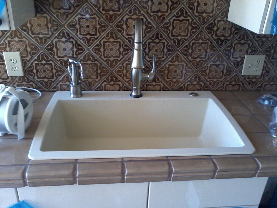 beautiful Water Softener For Kitchen Sink #2: 2 Bath remodel.